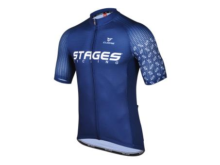 Stages Cycling Men Sport Vent Jersey - Blue