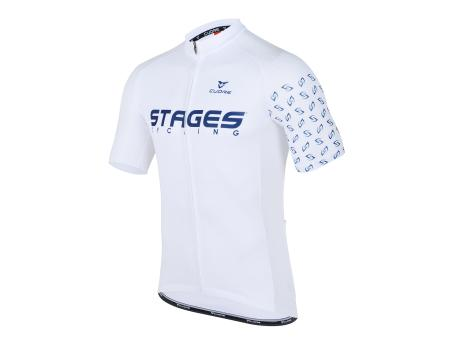 Stages Cycling Men Sport Vent Jersey - White