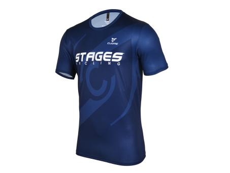 Stages Cycling Men Indoor SS Shirt - Blue