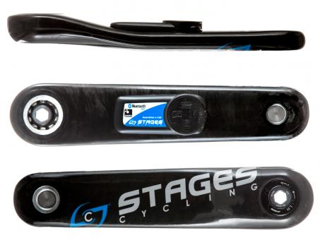 Stages Power Carbon for SRAM GXP Road 165 mm